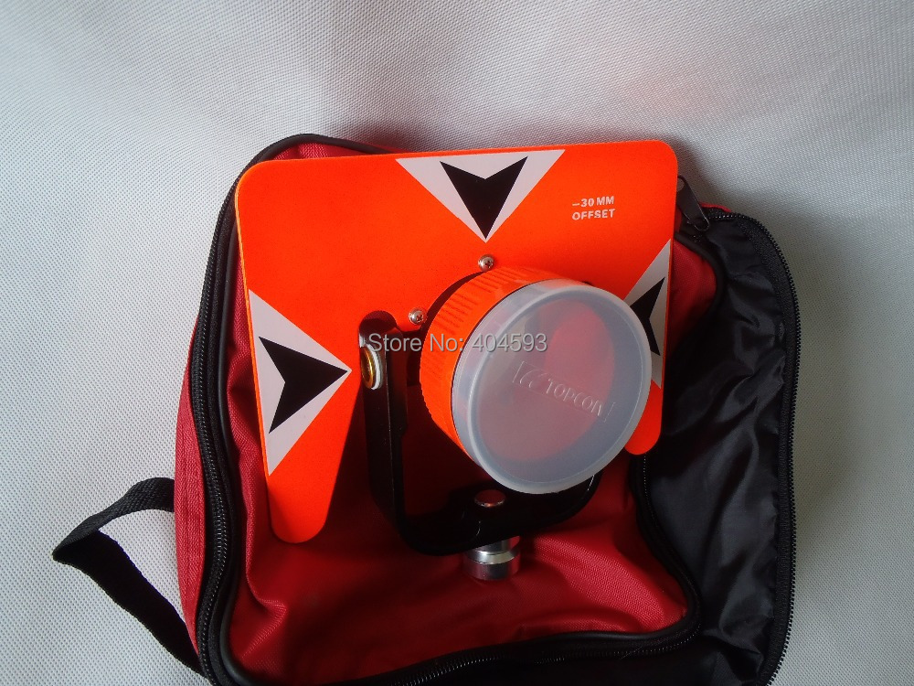 All Metal Prism Set w/ Bag for total station surveying, RED PRISM максисвет бра максисвет simple универсал 3 2078 1 bks e14