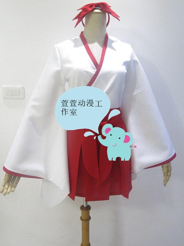 f4aaabe4bd1 2016 аниме-ину х Boku SS Shirakiin Ririchiyo Атавистическая форма Косплэй  Хэллоуин Детский костюм для вечеринок платье полный комплект