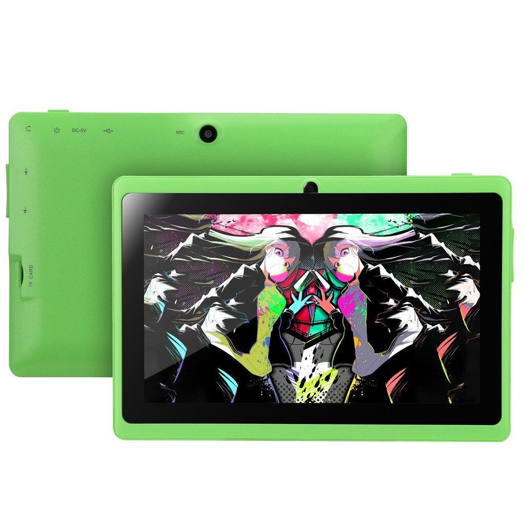 HIPERDEAL lecteur MP4 intelligent 7 pouces Google Android 4.4 enfants cadeau 512 M + 4 GB double caméra Wifi Bluetooth RMVB AVI Format