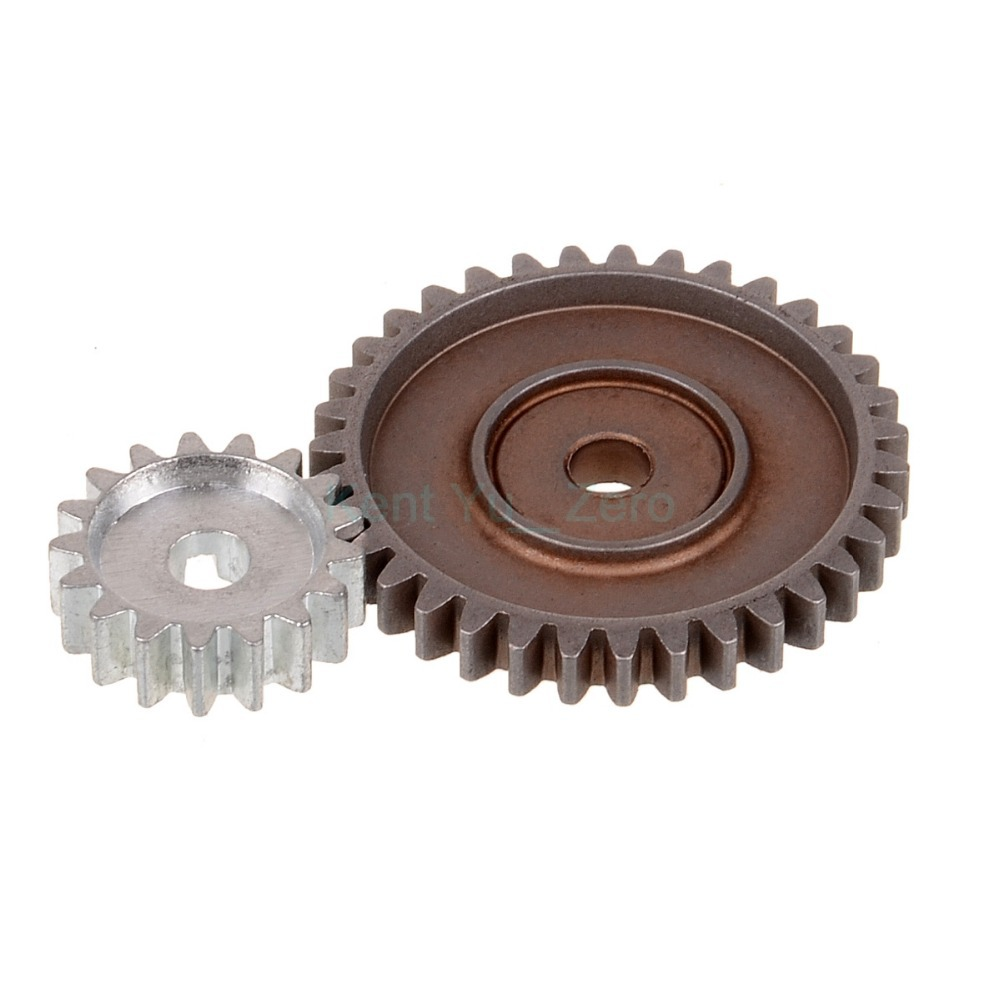 все цены на HSP Racing 08033 Gear 1(35T) Gear 2(17T) Spare Parts For 1/10 RC Model Car,For a variety of models онлайн
