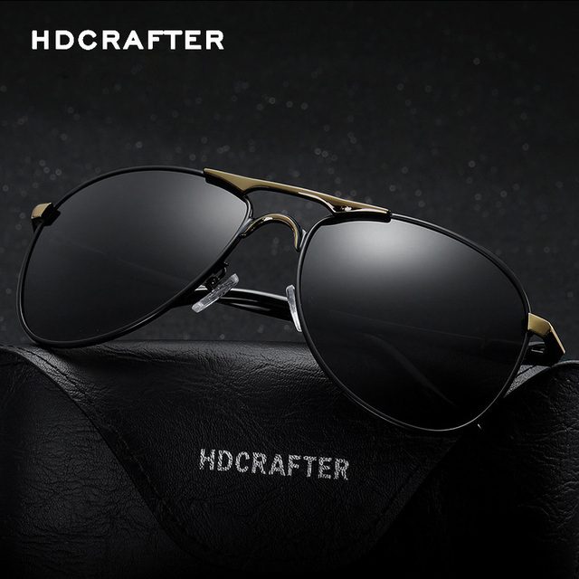 Brand Men Polarized Sunglasses Alloy Driving Fashion Classic Sun glasses Luxury gafas oculos de sol masculino H78