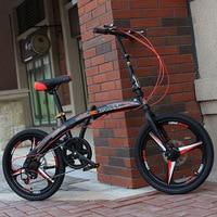 20 inch sports folding bike children's student bicicleta