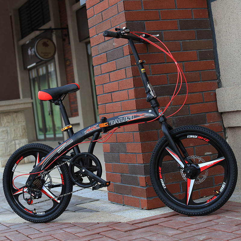 20-polegada esportes bicicleta dobrável estudante bicicleta das crianças