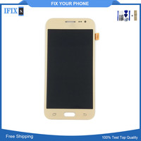Can Adjust Brightness Chinese Copy AAA Quality Phone Lcd For Samsung J2 LCD Screen Assembly With