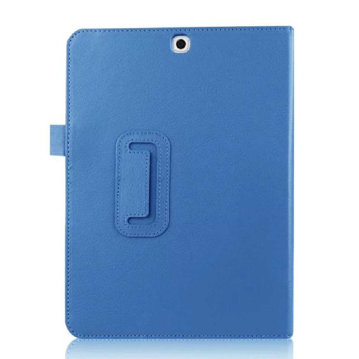Leather Stand Flip Case Cover For Samsung Galaxy Tab S2 9.7 T815 (Light Blue)