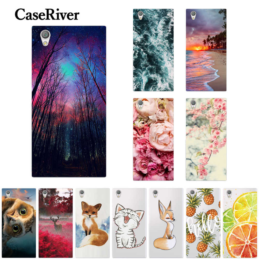 CaseRiver TPU For Sony Xperia L1 Case Cover Soft Silicone Case For Sony L1 Case Cover Phone Back Capas Bags G3311 G3312 G3313