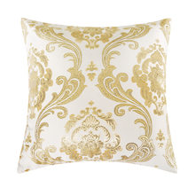 GIGIZAZA Gold Cushions Home Decorative Throw Pillows for The House sofa Luxury Square Pillowcases On The Couch Chair