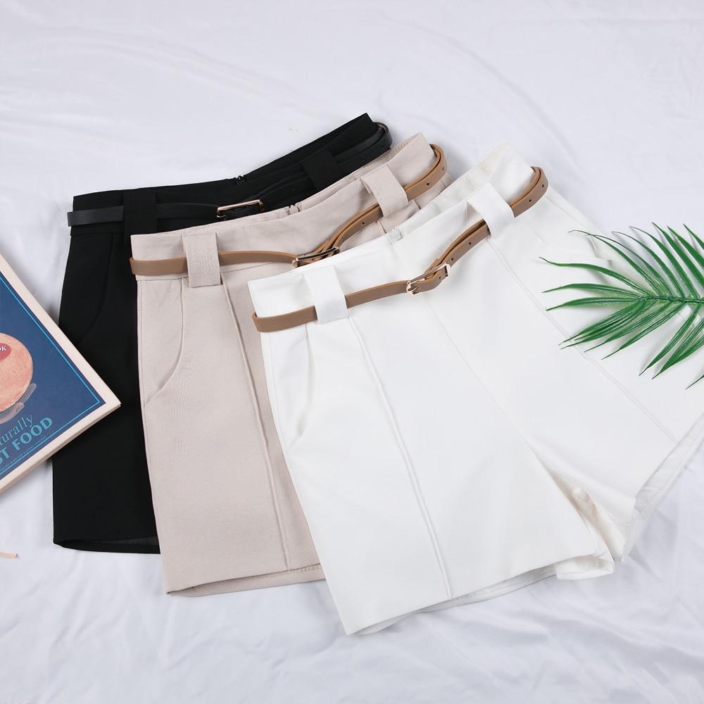 New Fashion Women Shorts Loose High Waist Wide Leg Shorts Spring Summer Casual Students Hot Shorts Ladies Office Wild Shorts
