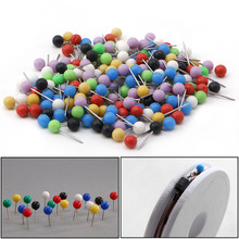 OOTDTY Multi-Color Fishing Pin for Fasten Line Winder Reel Spool Tackle 100pcs  fishing