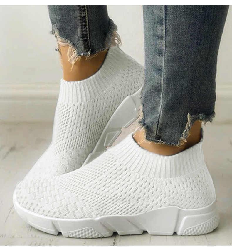 62e450595203b NAN JIU MOUNTAIN Shoes Woman 2018 New Flat Casual Shoes Sneakers ...