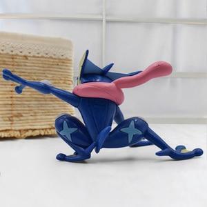 Image 3 - 2019 Anime Cartoon Greninja PVC Action Figures Toy Children Collection Model Toys Gift 3 5cm