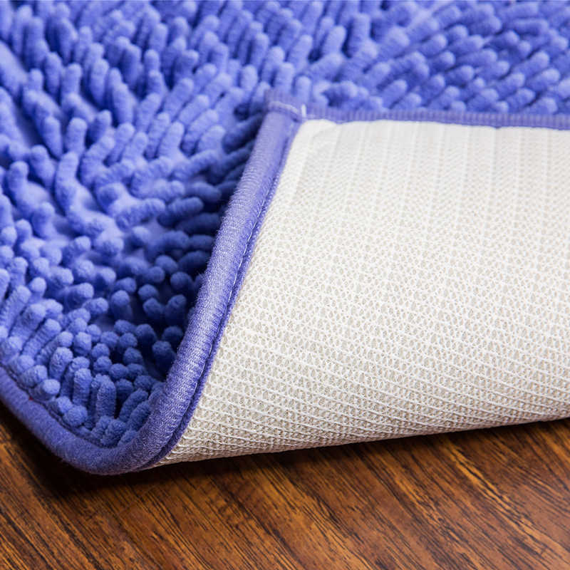 Chenille Luxury Bathroom Rugs Carpet