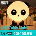 Free Shipping Cute Panda Creative LED Desk Lamp 3W LED Table Light, AC85~265V, Warm White/Cold White, 2 Years Warranty