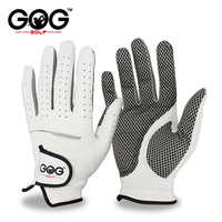Gants de Golf en peau de mouton Pure respirante pour hommes à gauche droite gants de Golf en cuir véritable livraison gratuite