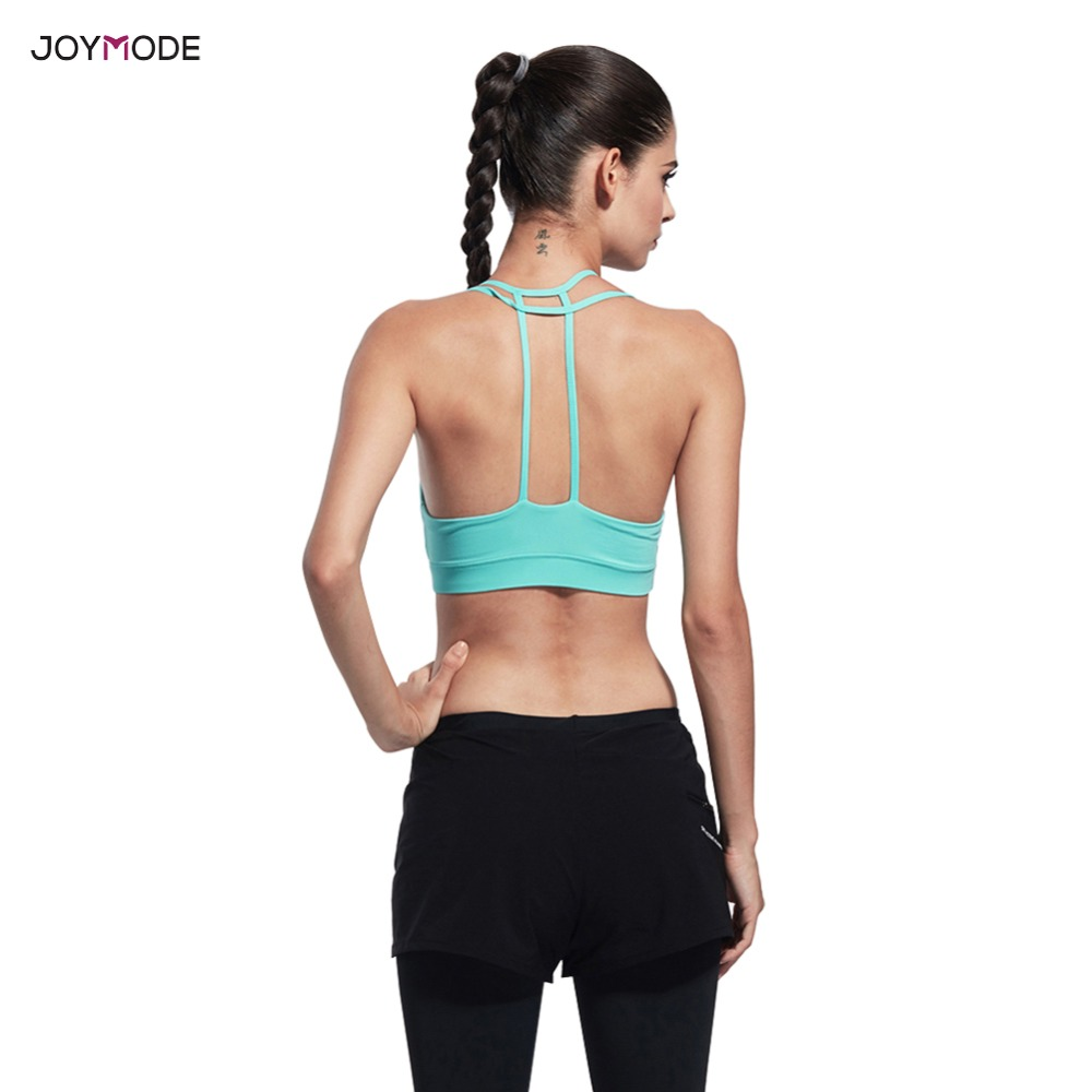 67326f5129a85 JOYMODE 2018 Sexy Yoga Bra Women Sports Bra Shake Proof Push Up Gym Top  Absorb Sweat Running Sports BraUSD 9.54 piece