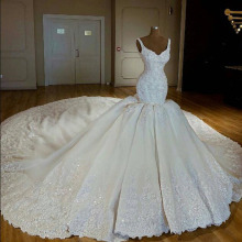 Wedding Crystal Gown Dubai