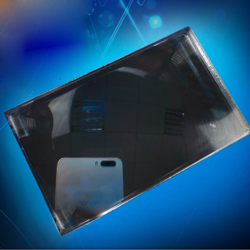 1PC Wide Angle Field Optical PMMA Plastic Reflecting Fresnel Lens for ATM Bank Window, Security other field Rearview mirror Lens doumoo 330 330 mm long focal length 2000 mm fresnel lens for solar energy collection plastic optical fresnel lens pmma material