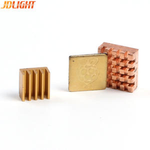 Heatsink Cooling-Pad Raspberry Pi Logo/aluminum 3 Copper with Disipador-Chip for 3-Model-B