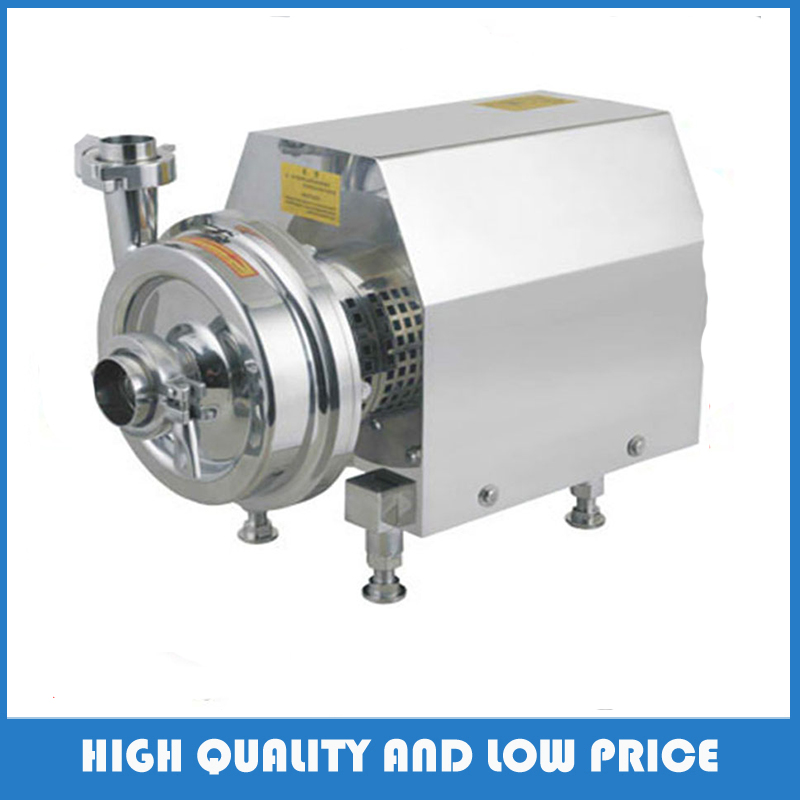 Food Grade,beverage,milk industrial stainless steel sanitary centrifugal pump with 370W 380v 50hz Motor 1 2hp 220v 50hz single phase small stainless steel centrifugal water pump sanitary pump beverage pump dishwasher pump