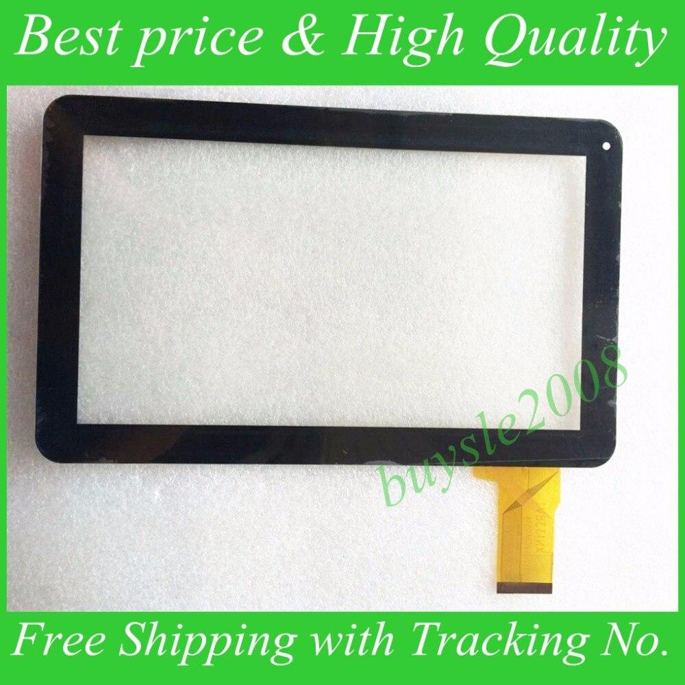 Noir Nouveau écran tactile Capacitif digitizer tactile panneau capteur en verre de remplacement pour 10.1 Irulu eXpro x11 Tablet Livraison Gratuite