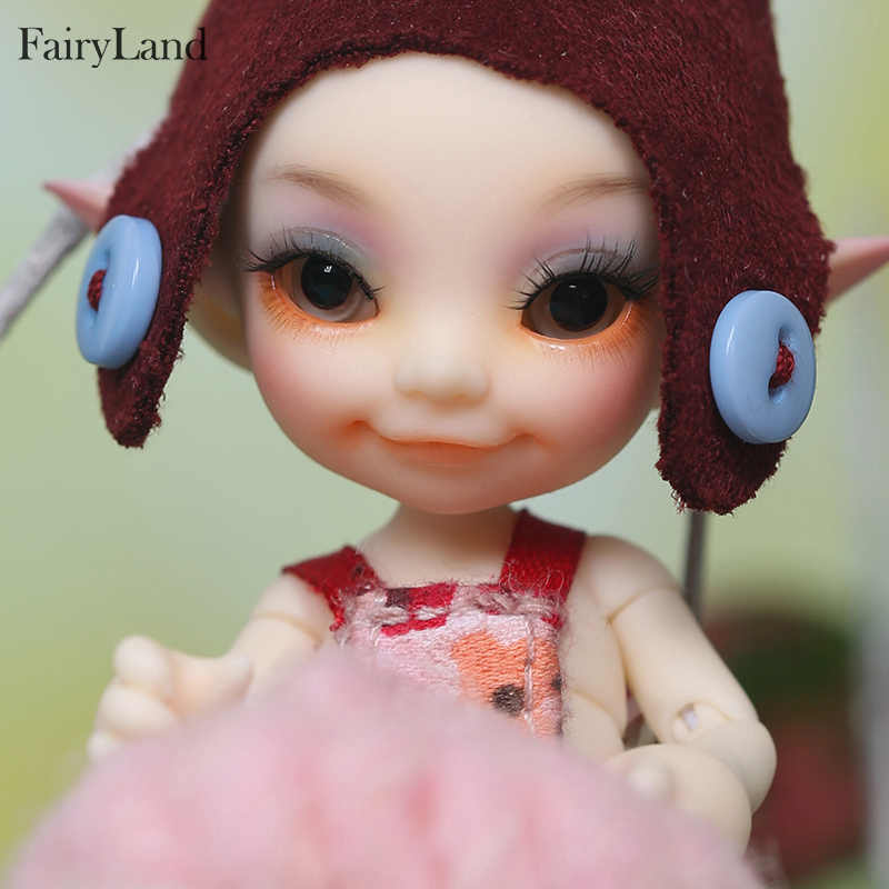 FreeShipping Fairyland FL Realpuki Toki sd bjd dolls 1/13 body model tsum  baby dolls toys dollhouse resin including sleep face