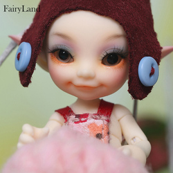 FreeShipping Fairyland FL Realpuki Toki sd bjd dolls 1/13 body model baby dolls toys dollhouse resin including sleep face
