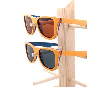 Gafas de sol polarizadas madera color 2