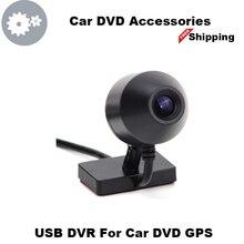 Big sale USB 2.0 DVR Front Camera Digital Video Recorder DVR Camera 720P HD For Android Car DVD GPS Player Multimedia