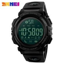 все цены на SKMEI Bluetooth Smart Watch Casual Outdoor Pedometer Calories Remote Camera Sports Watches LED Digital Wristwatches Horloges онлайн
