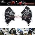 For SUZUKI HAYABUSA GSX1300R GSX 1300R 1999-2014 Motorcycle Accessories Front Lower Fork End Cover Black