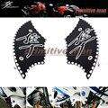 Para SUZUKI GSX 1300R HAYABUSA GSX1300R 1999-2014 Accesorios de La Motocicleta Frente Tenedor Inferior Cubierta de Extremo Negro