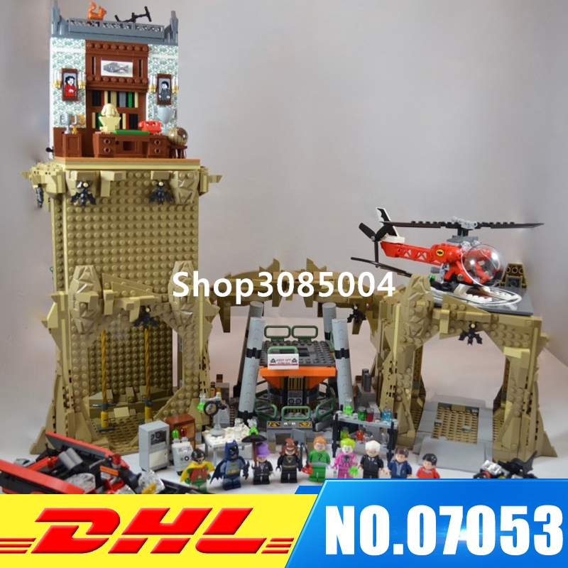 In Stock LEPIN 07053 2566PCS Genuine Super Heroes MOC Super Escort Set Children Building Blocks Brick Toy Model Gift Clone 76052 lepin 07053 2566pcs genuine dc batman super heroes moc batcave educational building blocks bricks toys gift for children 76052