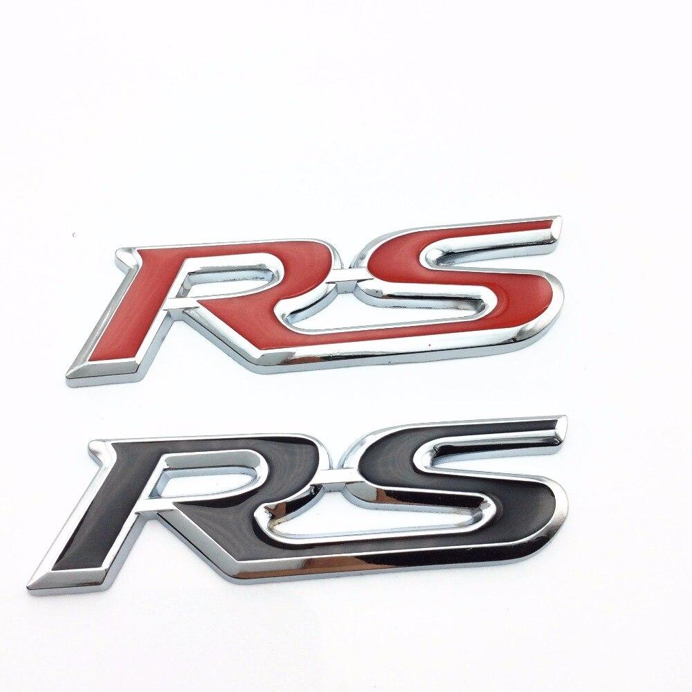 Car Styling RS Emblem Badge Trunk Sticker For Ford Focus Chevrolet Cruze Rio Skoda Octavia Mazda  sc 1 st  AliExpress.com & Popular Ford Car Badge-Buy Cheap Ford Car Badge lots from China ... markmcfarlin.com