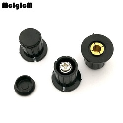 Черная крышка кнопочного выключателя подходит для смартфона высокого качества-поворачивает специальную ручку потенциометра