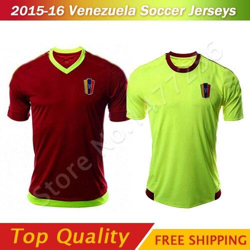 f520307afaed3 Venezuela Soccer Jerseys 15 16 Copa America Jersey Venezuela Camisetas De Futbol  2016 Venezuela football shirts