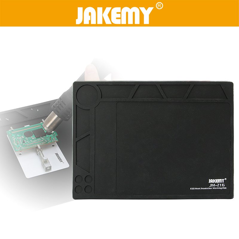 Jakemy 1pc Insulator Pad For Electronic Esd Heat