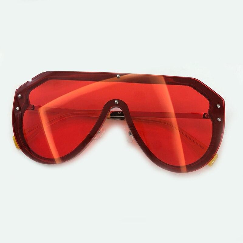 De luxe Lunettes De Soleil Femmes Marque Designer 2019 Haute Qualité Oculos De Sol Feminino Miroir Objectif Lunettes De Soleil avec la Boîte D'emballage