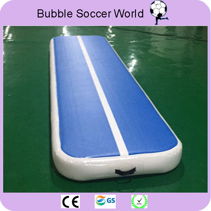 Inflatable Air Tumble Track Olympics Gym Mat for Yugo taekwondo 4*1*0.1m Air Inflatable Gym Track Home use Electric Air Pump hot sale inflatable air tumble track gymnastics for sale