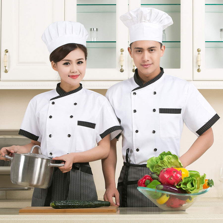 Cooks Wear High Quality Chef Uniforms Female Restaurant Chefs ...