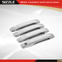 ABS Plastic Chrome Plating Door Handle Cover Accessories 4D No PSKH for NISSAN Qashqai/Frontier/Altima/Maxima 2007 2008 2009