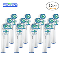12PC* Health Care Electric Toothbrush Heads Replacement  For B SB-417A Oral Dual Clean Care Teeth Brush