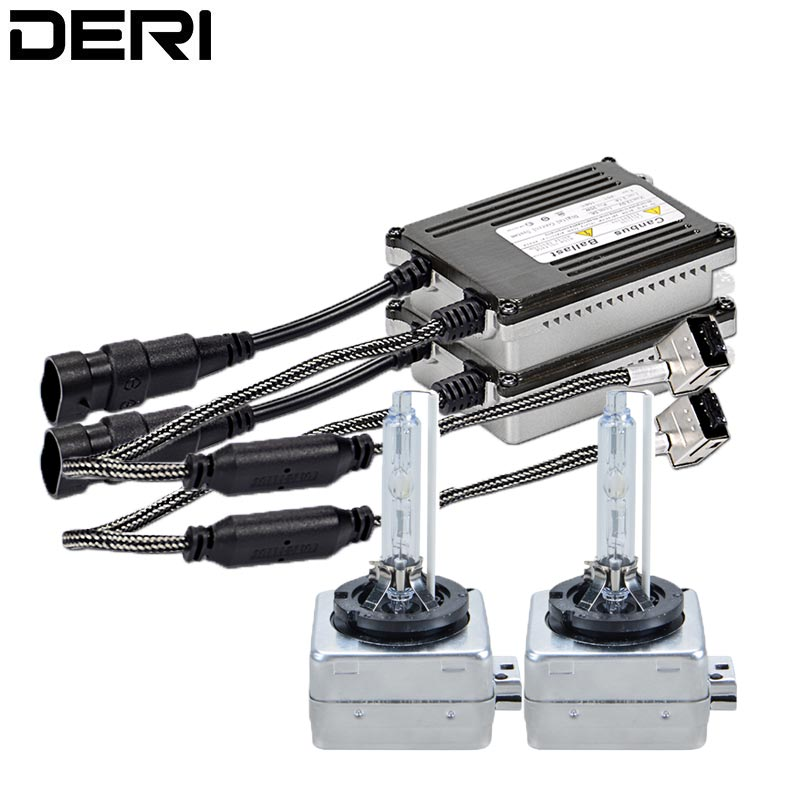 High Quality 12V 35W D1S D1R D3S D3R Xenon HID Kit 4300K 6000K 8000K with Canbus