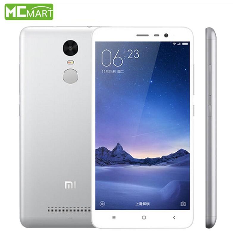 Xiaomi Redmi Note 3 Pro 2GB RAM+16GB ROM Note3 5.5″ MIUI7 Snapdragon 650 4G fingerprint ID Smartphone