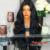 Moda Sintético Perucas Com o Cabelo Do Bebê Onda Do Corpo Resistente Ao Calor Glueless Peruca Dianteira Do Laço sintético Para As Mulheres Negras Metade Mão perucas