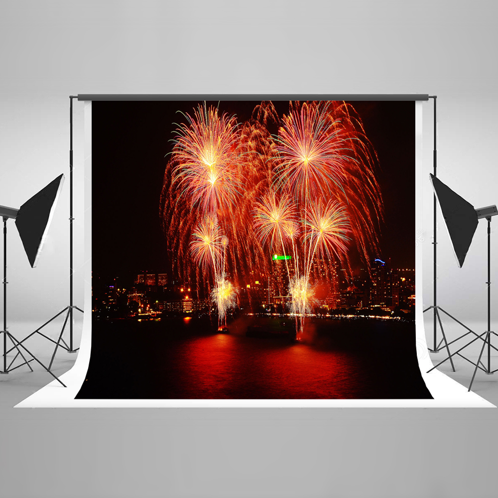 Kate Firecracker Photo Background Photography Backdrop City Night Backgrounds For Photo Studio Children Background Photography kate photo background scenery