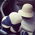 Stylish Fashion Women Foldable Wide Large Brim Beach Sun Caps Floppy Straw Hat Sweet Butterfly Summer Tour Hats for Women