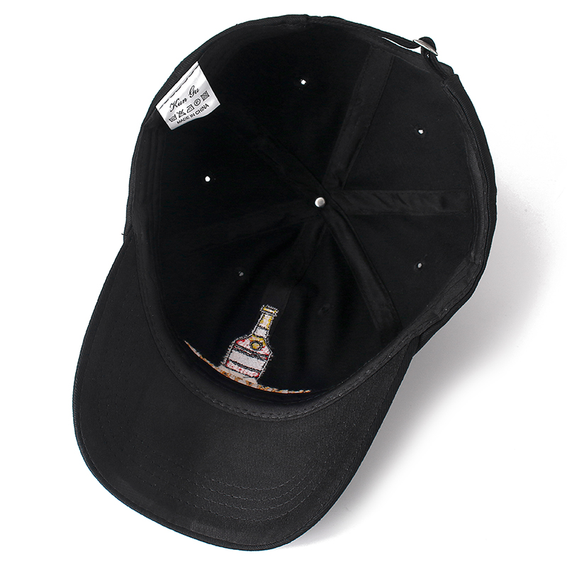 7704315d05fc2 New Henny Wine Bottle Embroidery Dad Hat Men Women Baseball Cap adjustable  Hip Hop Snapback Hat High Quality Cap-in Baseball Caps from Apparel  Accessories ...