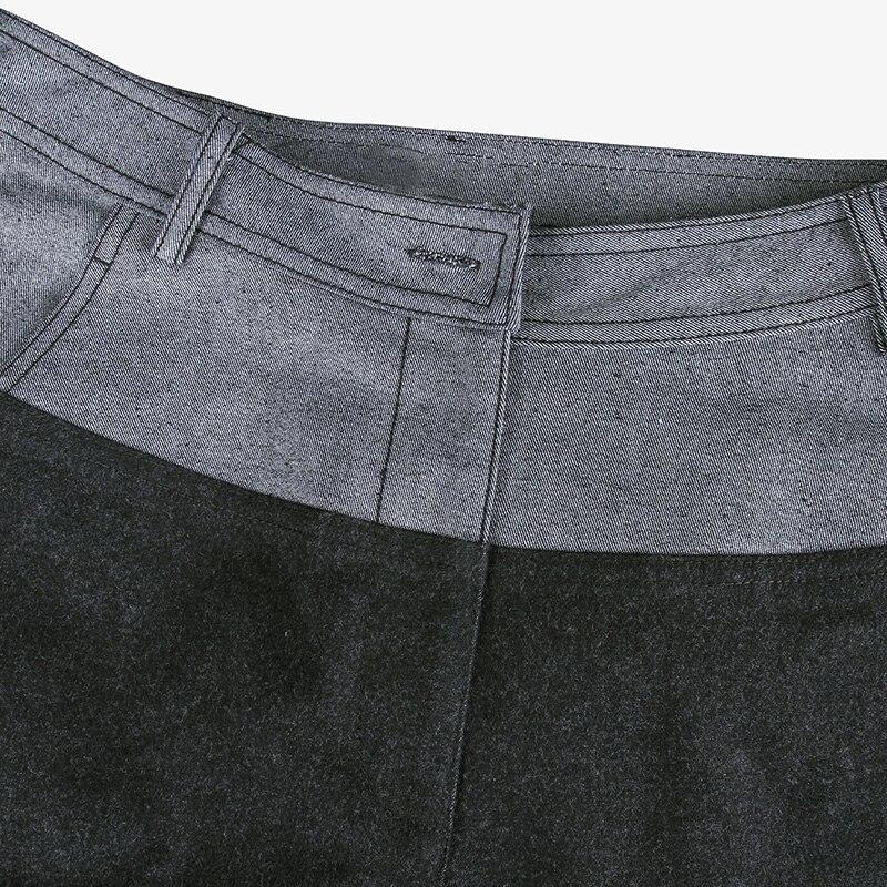 Pokwai 2017 Pantalones Manera Con Ropa Longitud La Algodón Botón De Cremallera Mujeres Flacos Becerro Black Lápiz Marca Ocasional Plana Cierre 4vrf4Wgzq