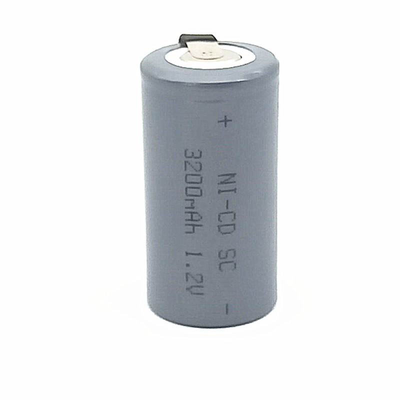 20pcs lot SC battery rechargeable NI CD 1 2v 3200mah batteria battery Free Shipping in Replacement Batteries from Consumer Electronics