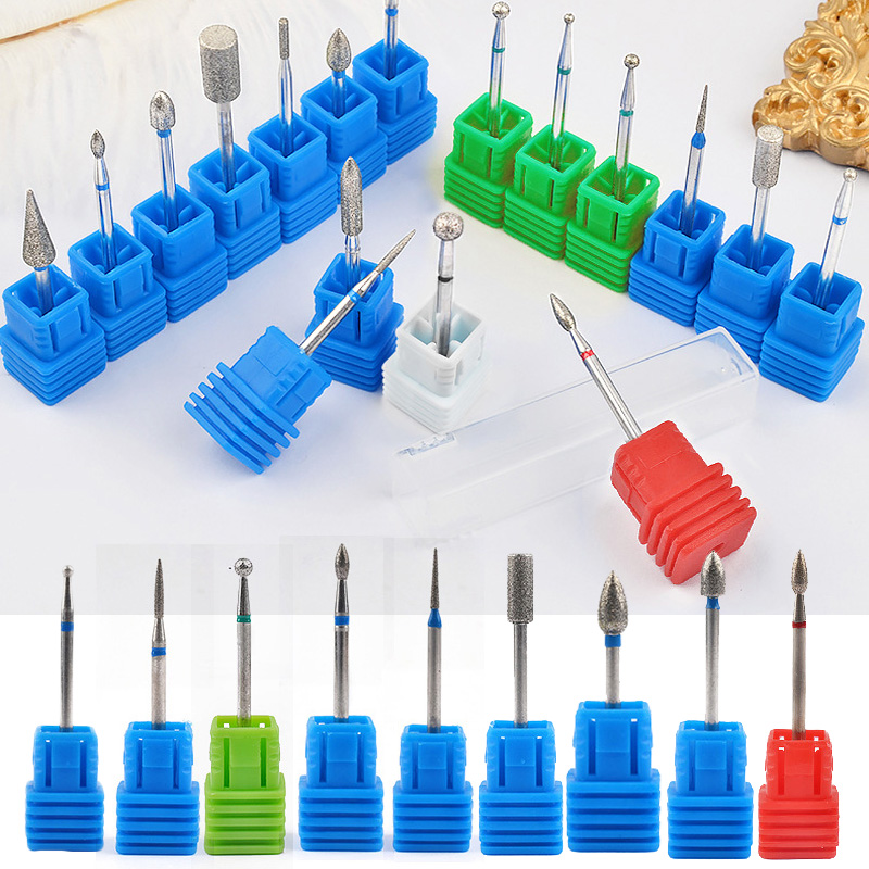 Milling Cutter For Manicure Nail Drill Bits Pedicure Milling Cutter For Nail Drill For Nail Art Tungsten Mill Manicure Cutters